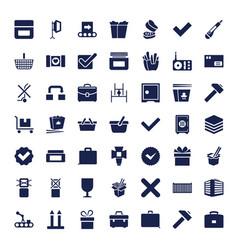 49 box icons vector
