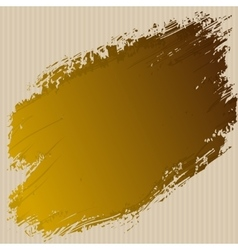 art ink splash on cardboard abstract vector image
