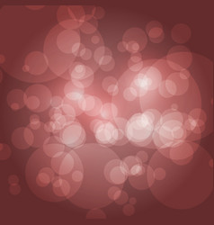 Bokeh background sparkling effect warm vector