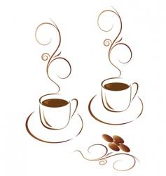 coffee logo vector image
