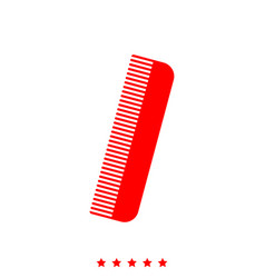 comb it is icon vector image