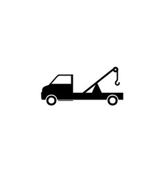freight tractor icon element of car type icon vector image