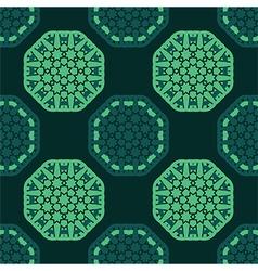 Octagon seamless pattern vector