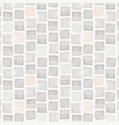 Paddy field hatch and cross hatch squares seamless vector