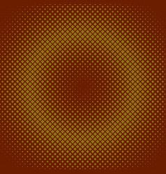 Retro halftone diagonal square pattern background vector