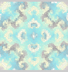 Seamless grunge abstract square pattern paint vector