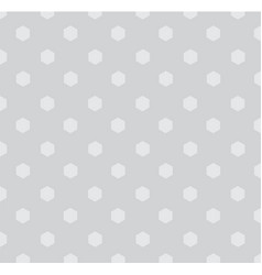 Seamless polka polygons pattern background vector