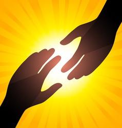 Solar handshake vector