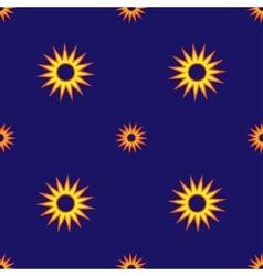 Stars geometric seamless pattern 1004 vector image