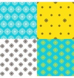 Endless patternTemplate for design and vector image vector image