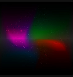 galaxy cosmic background and light colorful stars vector image
