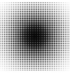 retro abstract halftone dot pattern background - vector image