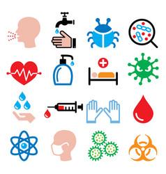 infection virus sickness getting flu - health vector image