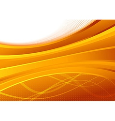 Transparent orange background template - folder vector image vector image