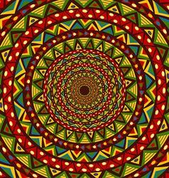 Colorful circular design vector