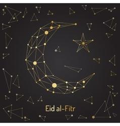 Eid mubarak festival vector