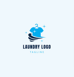 Laundry logo creative logo clothes logo clean vector