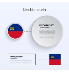 Liechtenstein Country Set of Banners vector image