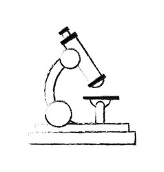 microscope science icon image i vector image