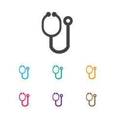 of clinic symbol on vector image