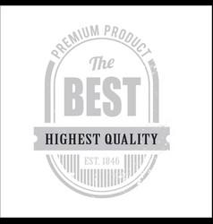 Vintage premium oval image vector