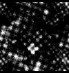 retro white halftone ink print seamless pattern vector image vector image
