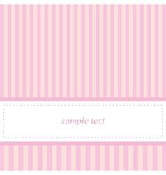 Card invitation template for bashower wedding vector
