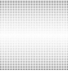 Halftone square background monochrome gradient vector