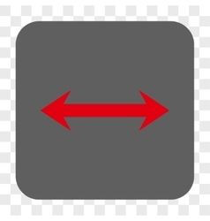 Horizontal Flip Rounded Square Button vector