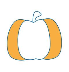 Isolated cute pumpkin vector