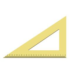 New design triangle icon realistic style vector