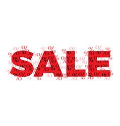 sale flat design concept vector image