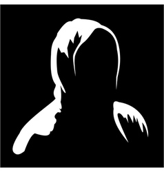 Silhouette of anonymous 2 vector