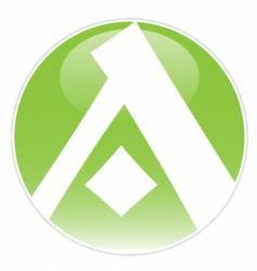 logo a vector image vector image