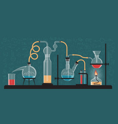 A complex chemical reaction vector