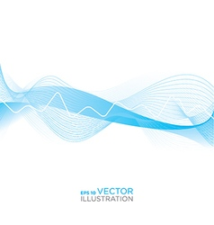 Abstract heart rhythm medical background vector