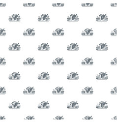 cowboy pattern seamless vector image