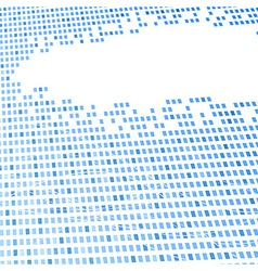 geometrical hi-tech blue background template vector image