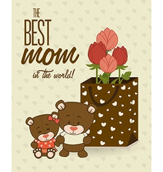 Mother day design vector