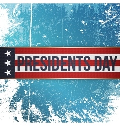 Presidents Day realistic Holiday Banner with Text vector