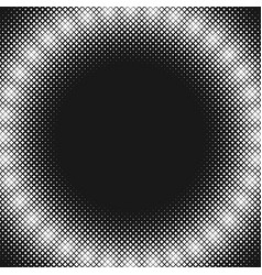retro halftone square pattern background with vector image