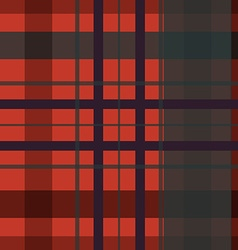 Saint Patricks Day squared irish kilt seamless vector image