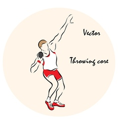 Throwing core vector