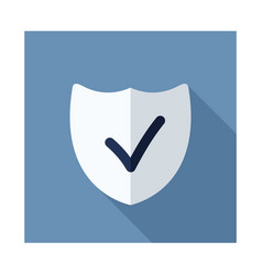 Best protection shield outline icon vector