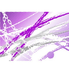 magenta industrial background with chain vector image vector image