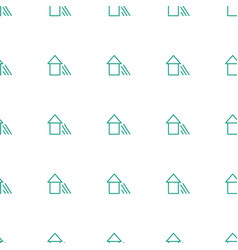 arrow up icon pattern seamless white background vector image