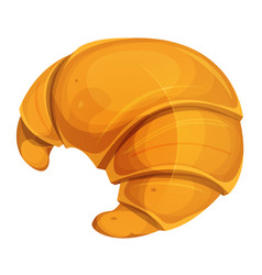 french croissant icon vector image