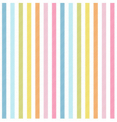 Rainbow stripes seamless pattern diagonal texture vector