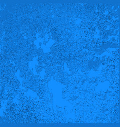 Texture old concret blue wall vector