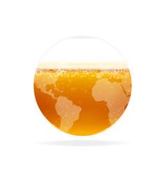 beer world vector image